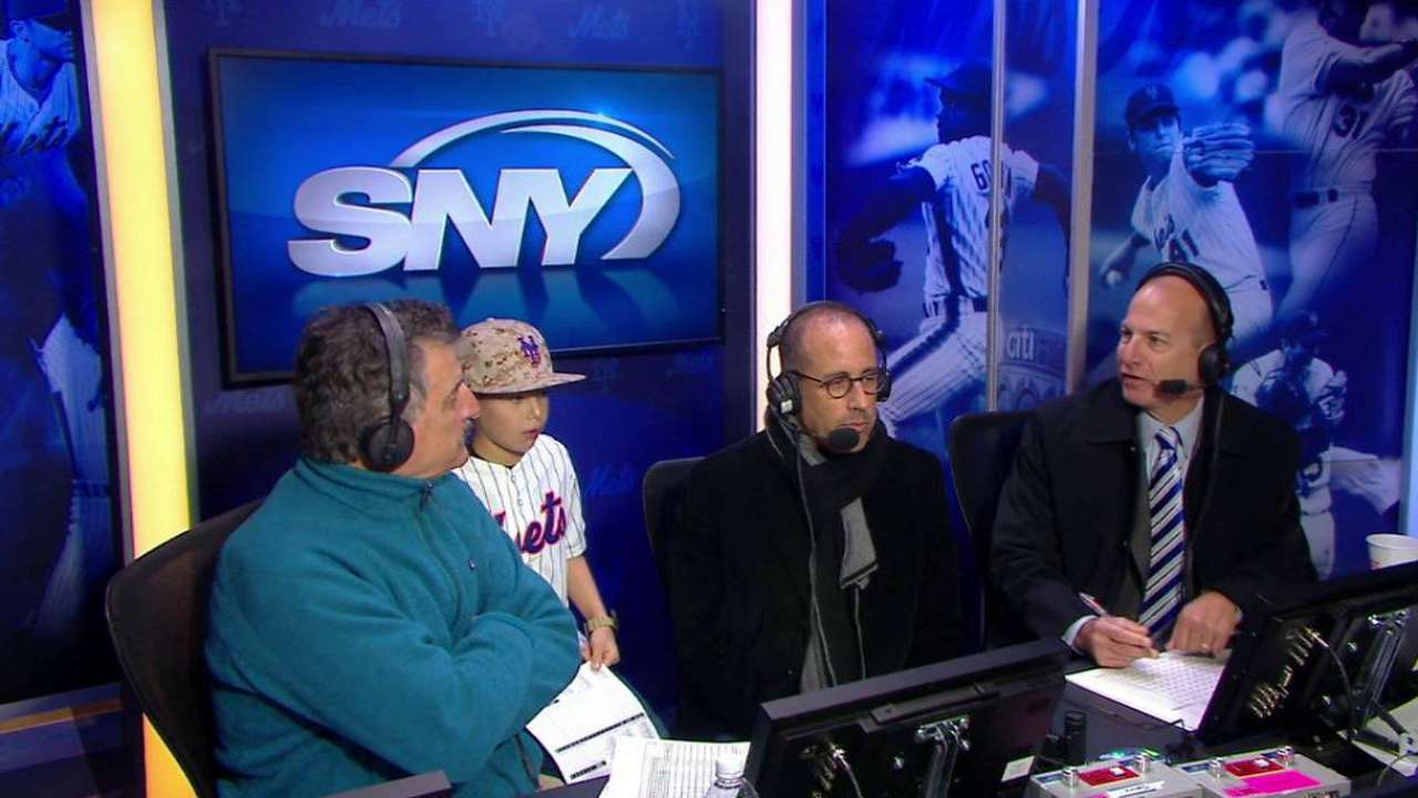 Hello, Jerry: Seinfeld joins Mets' broadcasters