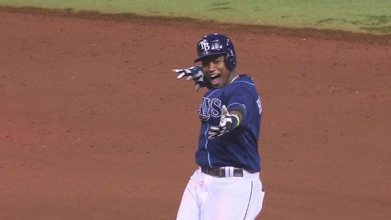 Rays walk off; Blue Jays lose hold on home field