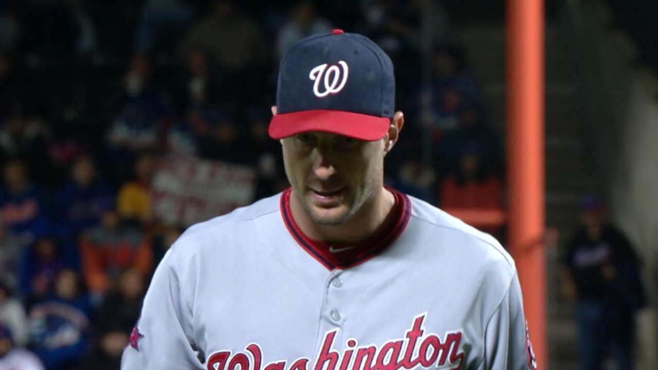 Scherzer fans 17 in no-hitter