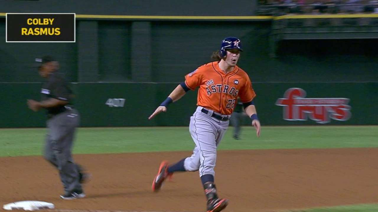 Astros' win sets up wild final day