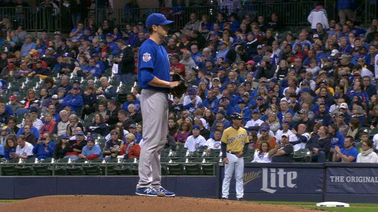 Hendricks, Arrieta lined up for Games 2, 3