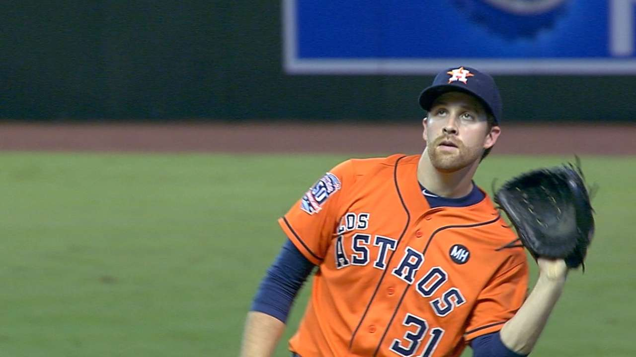 Astros turn to McHugh in ALDS opener