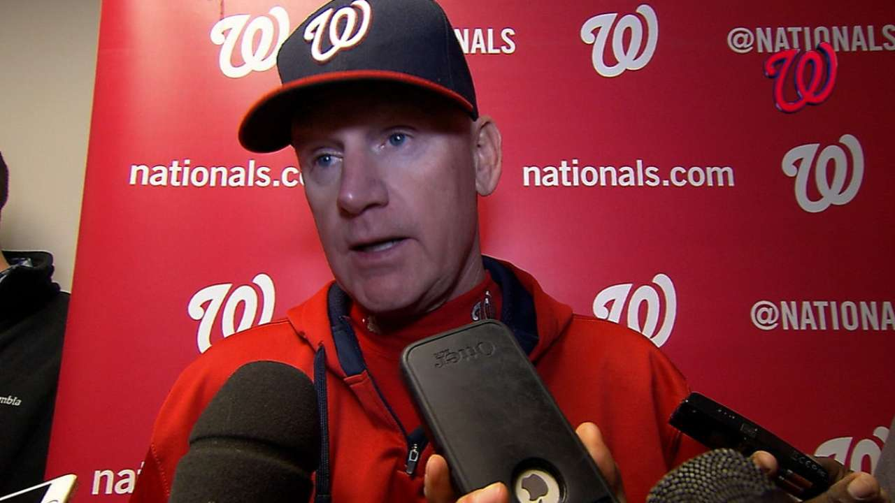 Nationals on Scherzer's no-no