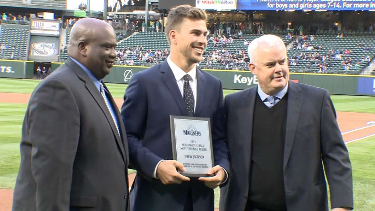 Mariners honor Minor League award winners