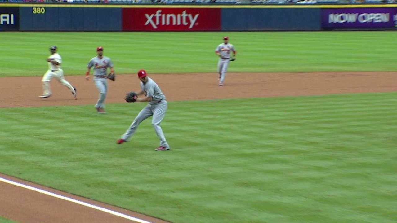 Lackey flashes the leather
