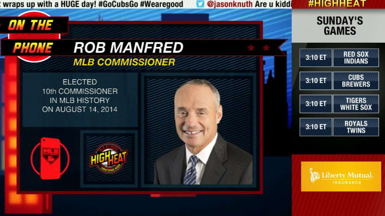 Commissioner Manfred on Game 162