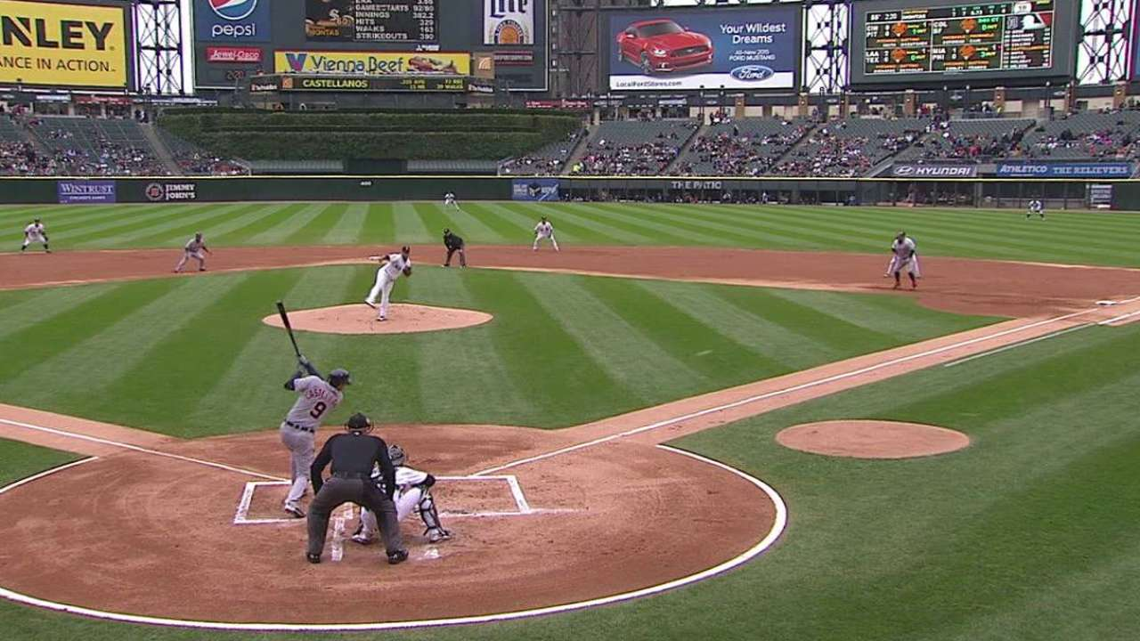Norris leads Tigers over White Sox in finale