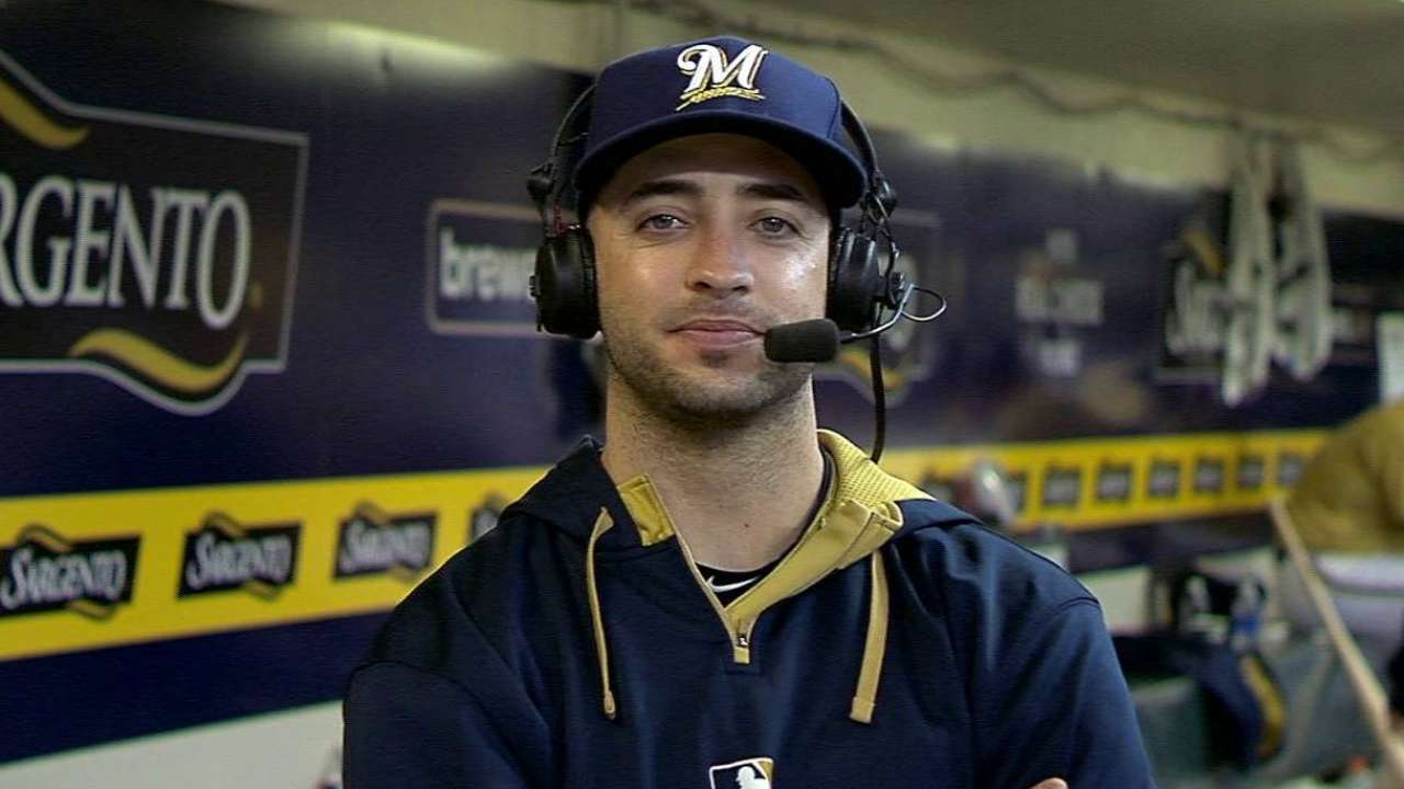 Braun joins Brewers' broadcast
