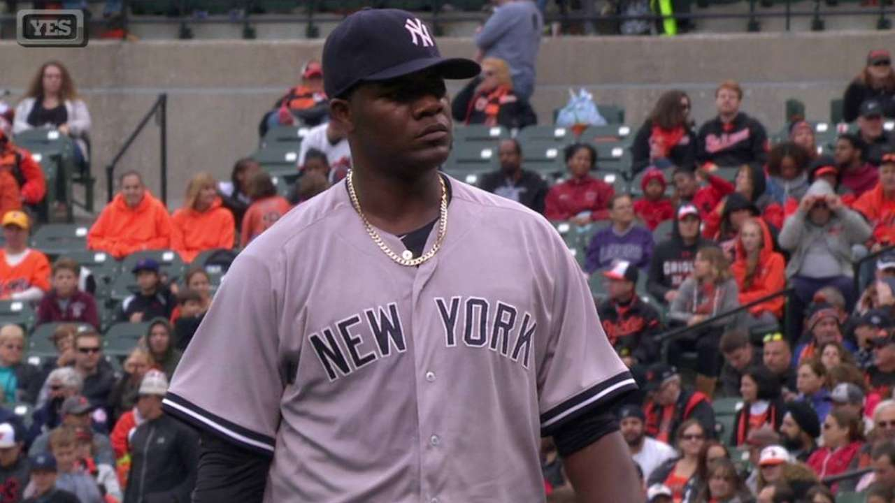 Yanks ink Pineda, Ackley; Chapman to arbitration