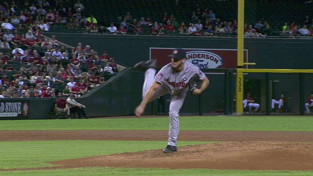 Astros tab rookie McCullers for Game 4