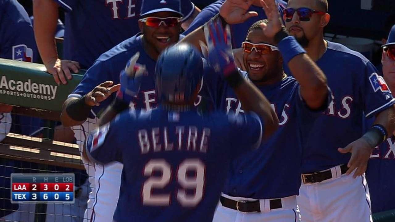 Beltre's two-run homer