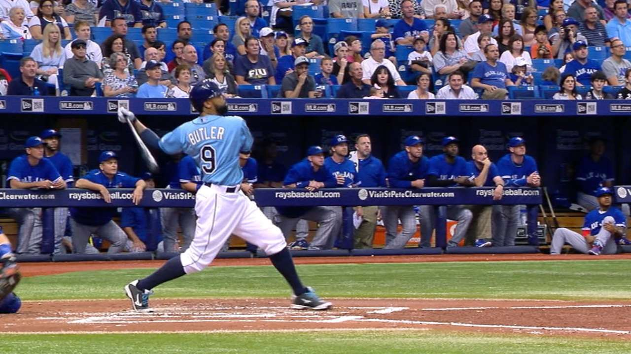 Rays' 9-run 1st sends Blue Jays to 2nd seed in AL