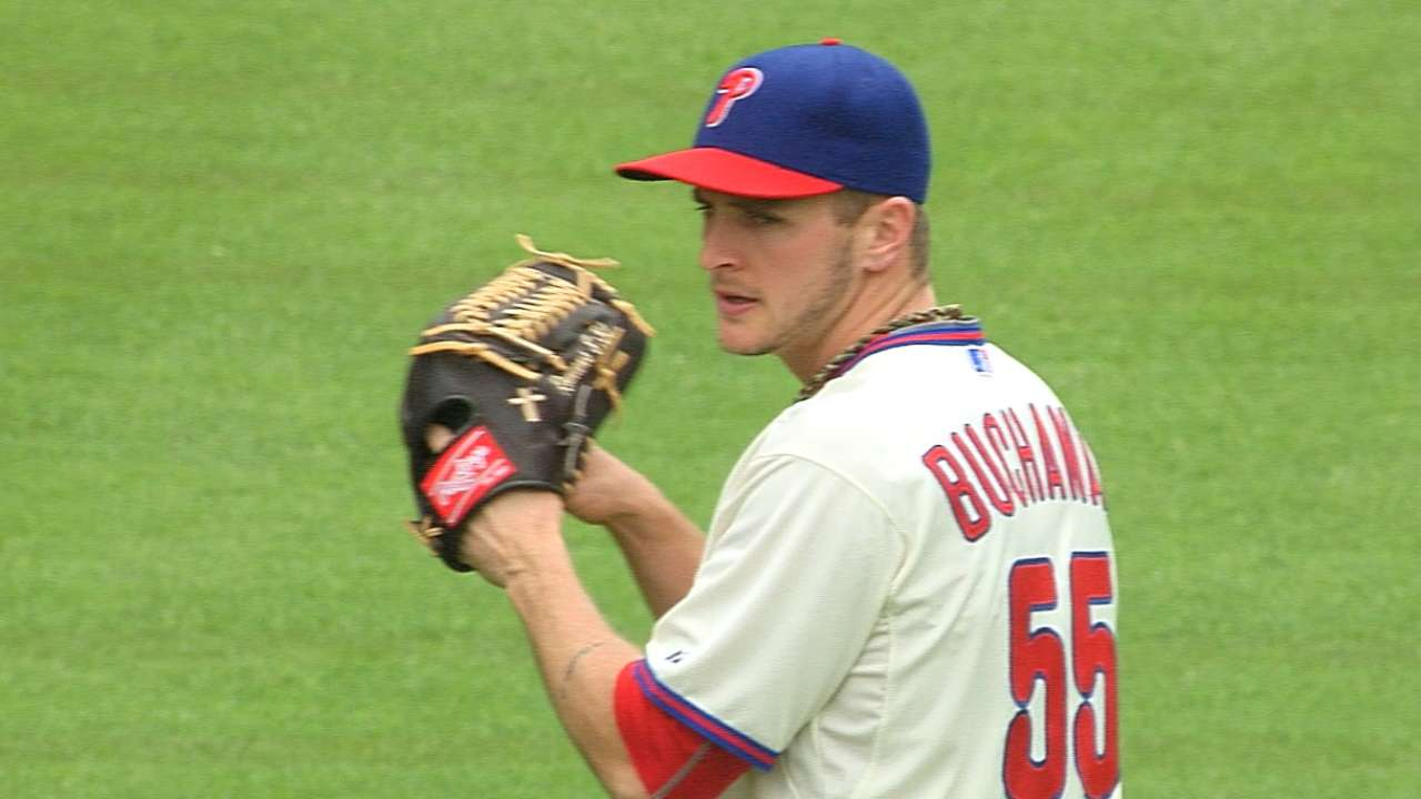 Buchanan's solid outing