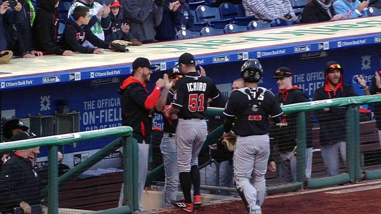 Ichiro retires Altherr