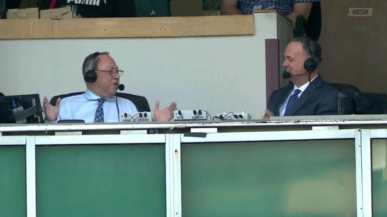 Orsillo remembers his first game