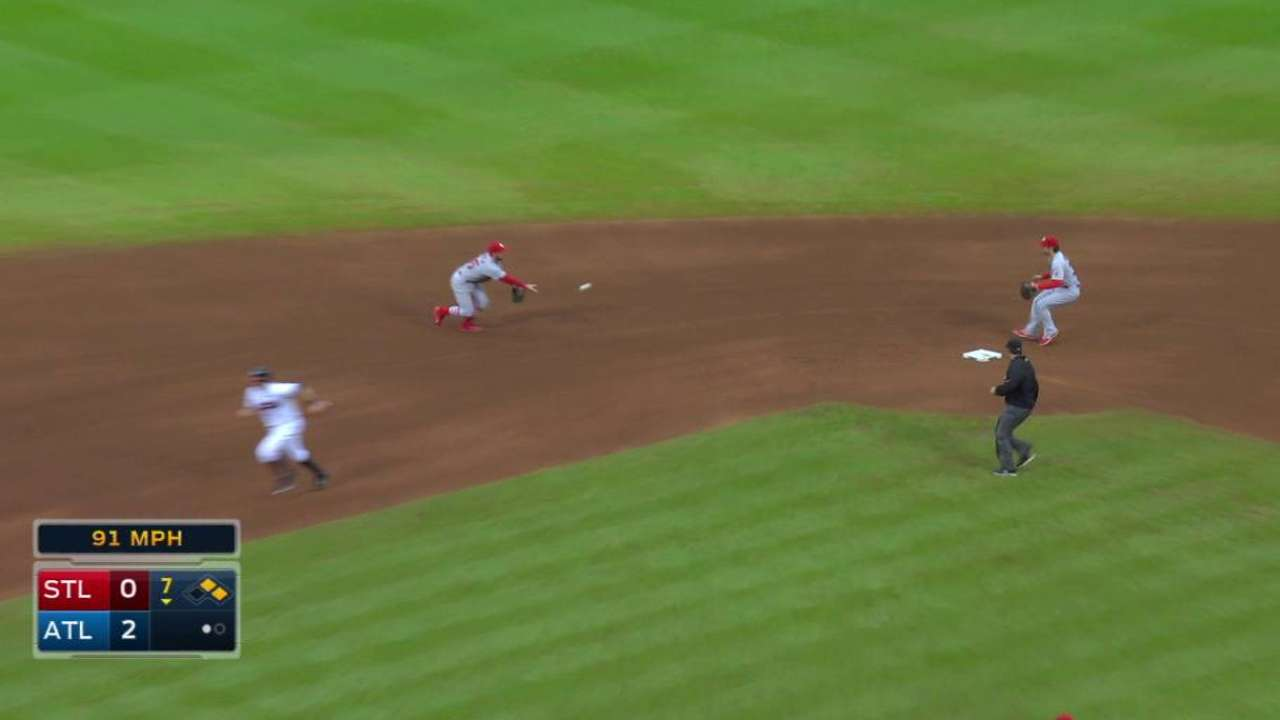 Cishek induces double play