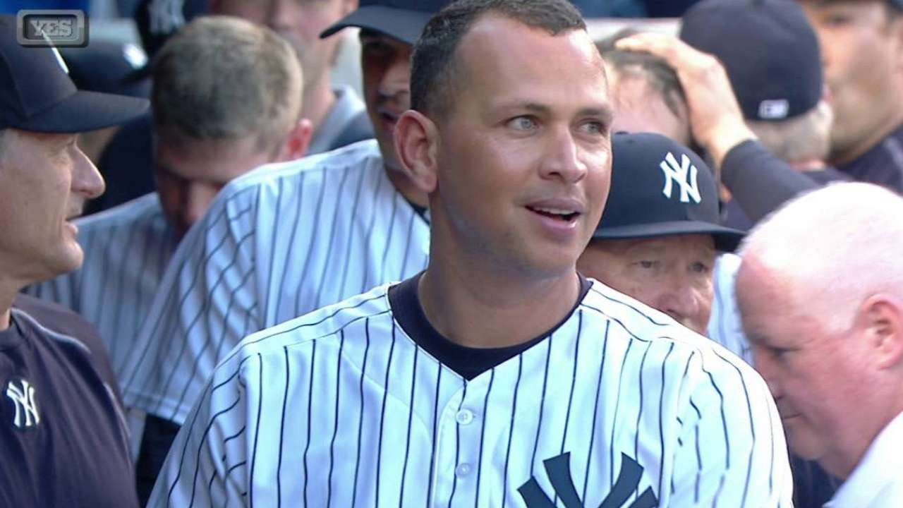 A-Rod homers for 3,000th hit