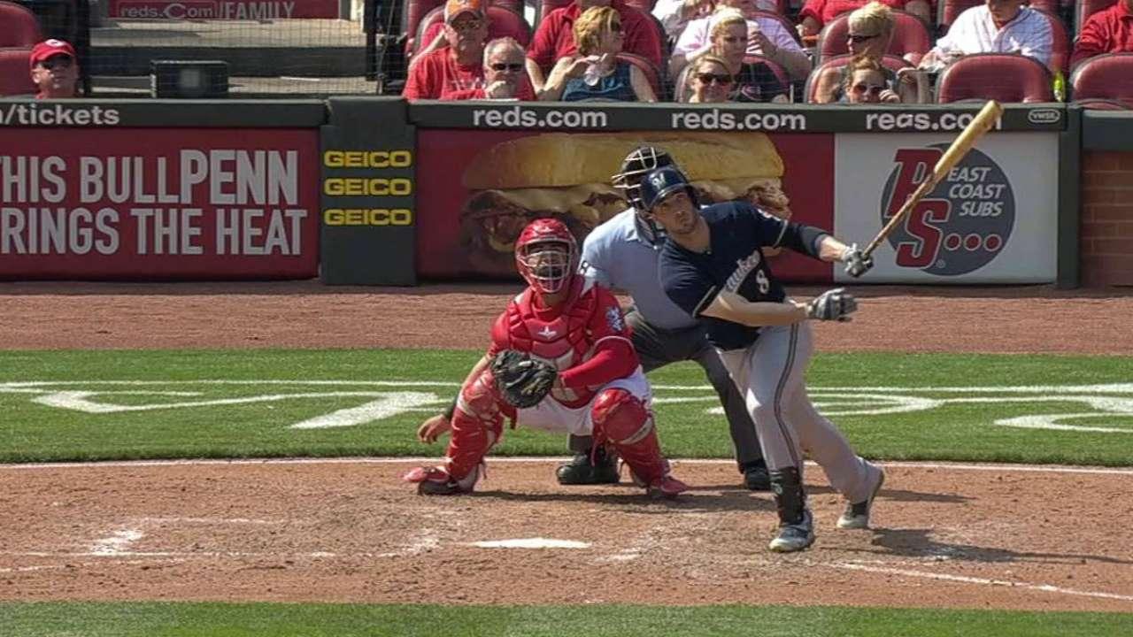 Braun's 25th homer