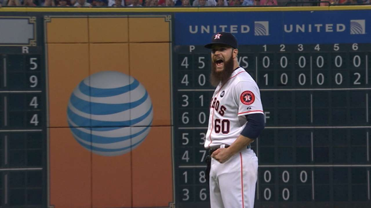 Keuchel undefeated at home