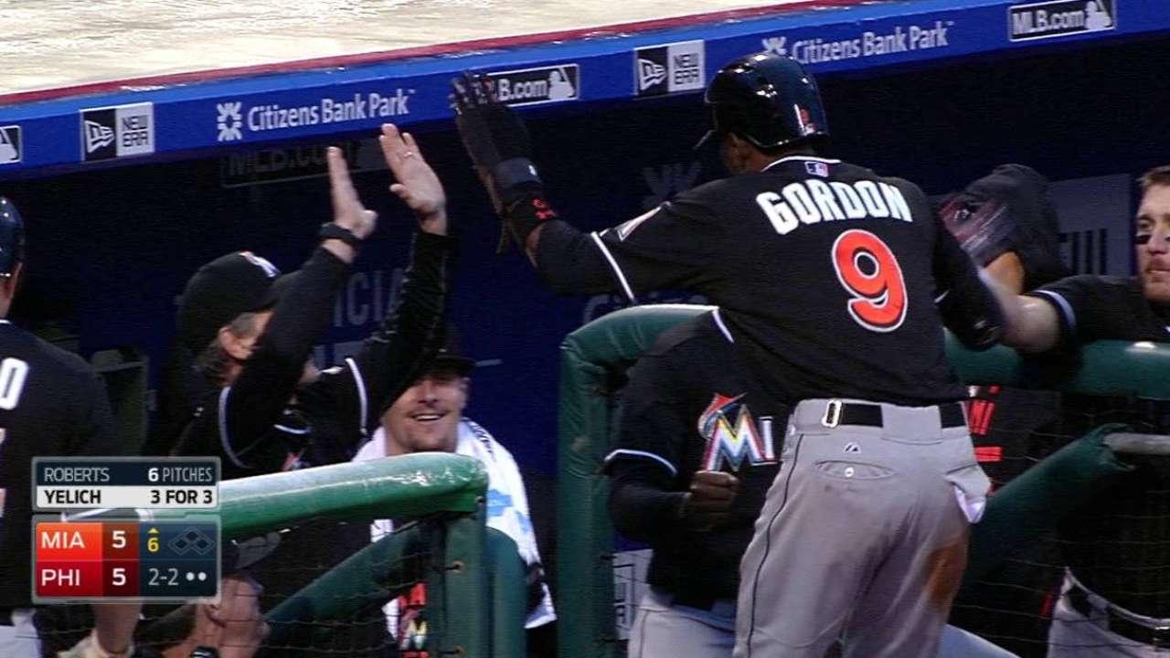 Gordon swipes 58th base of 2015