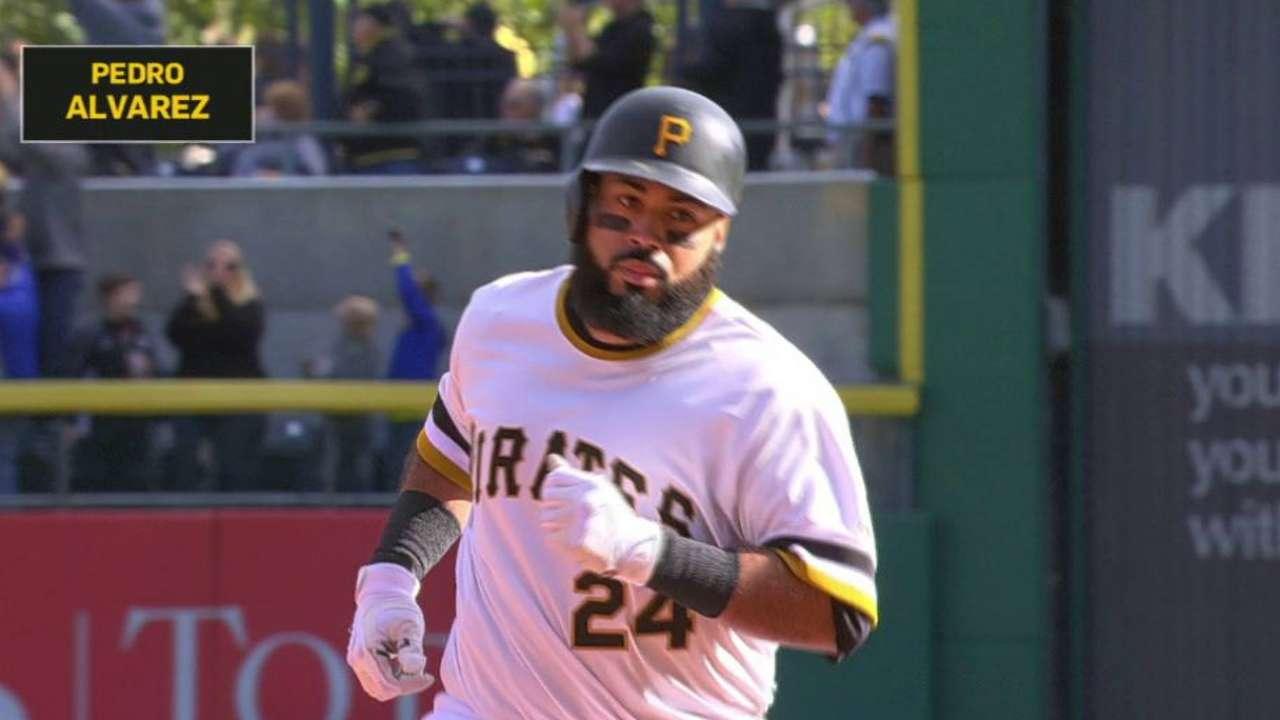 Alvarez's long solo home run