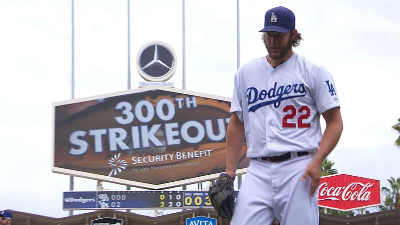Kershaw joins elite group