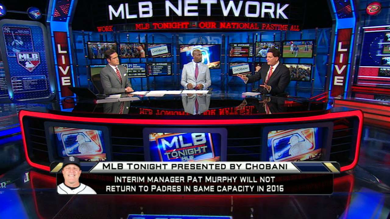 MLB Tonight on Padres and Murphy