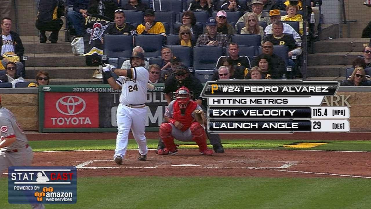 Statcast: Alvarez's huge homer