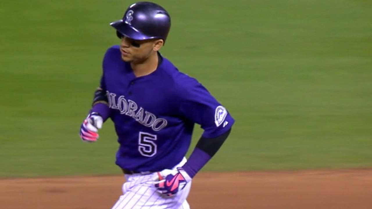 Arenado's breakout year paces 2015 Rockies