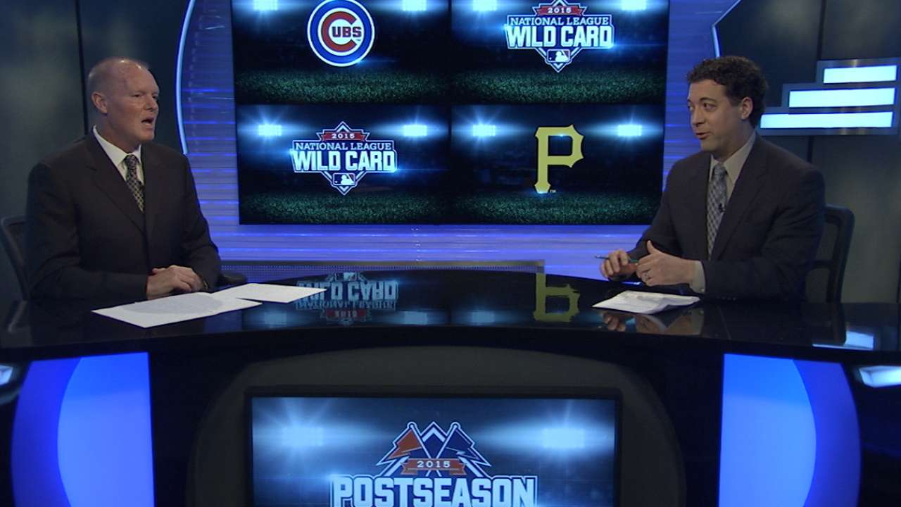 NL Wild Card position-by-position: Cubs-Pirates
