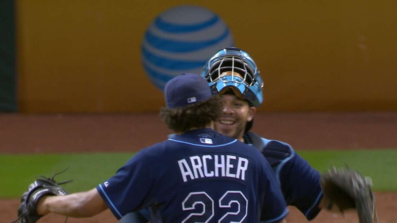 Archer, Kiermaier, Forsythe shine in Rays' cloudy 2015