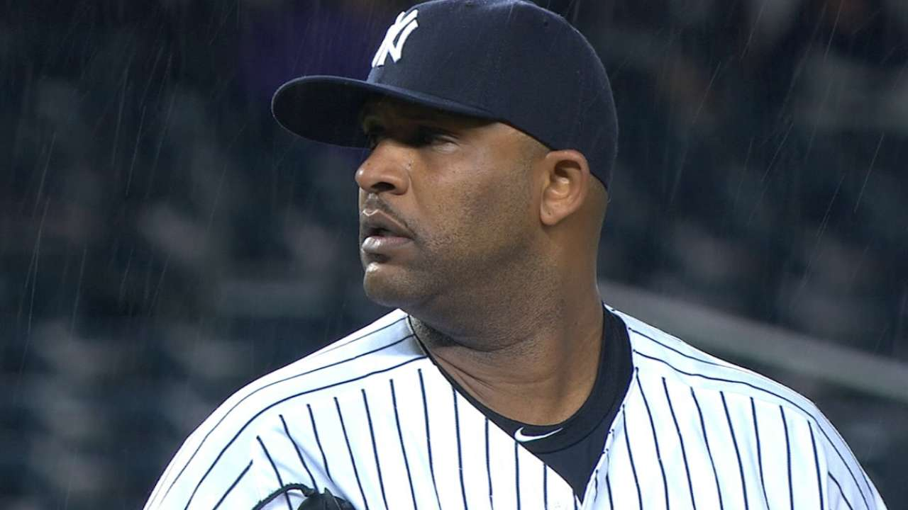Sabathia leaves Yankees to enter alcohol rehab