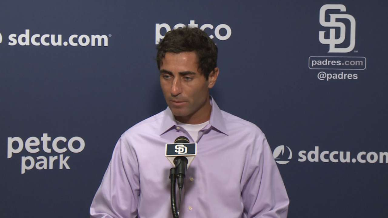 Preller laments '15 finish, not revamped roster