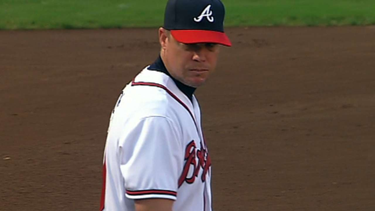 Braves react to WC loss to Cards
