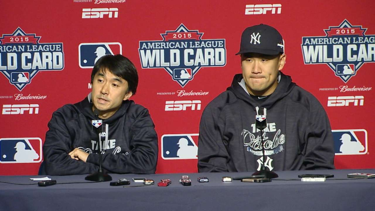 Yankees counting on Tanaka to set tone