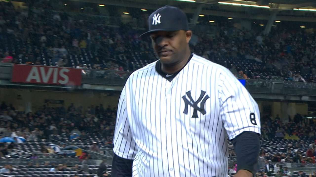 Girardi expects CC to be part of '16 rotation