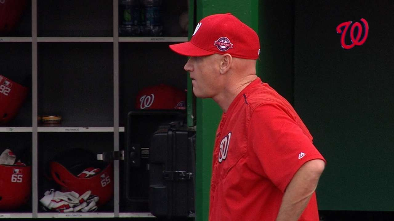 Nationals dismiss Williams
