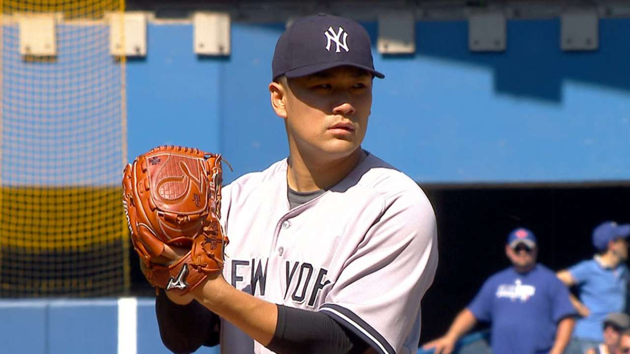 Eight rookies on Yanks' Wild Card roster