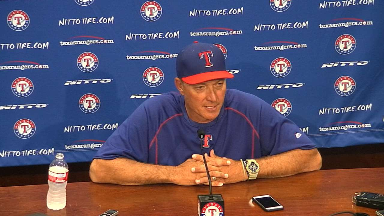 Banister on opening ALDS on road