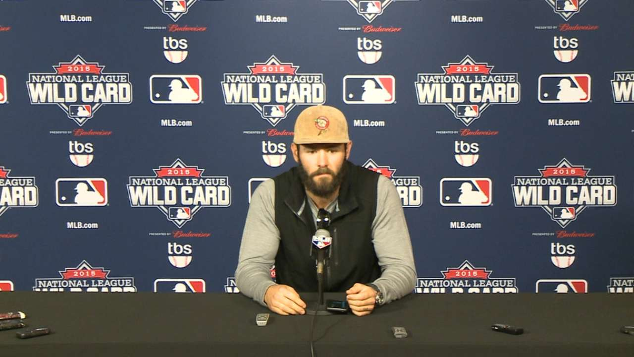 Arrieta on Wild Card Game start