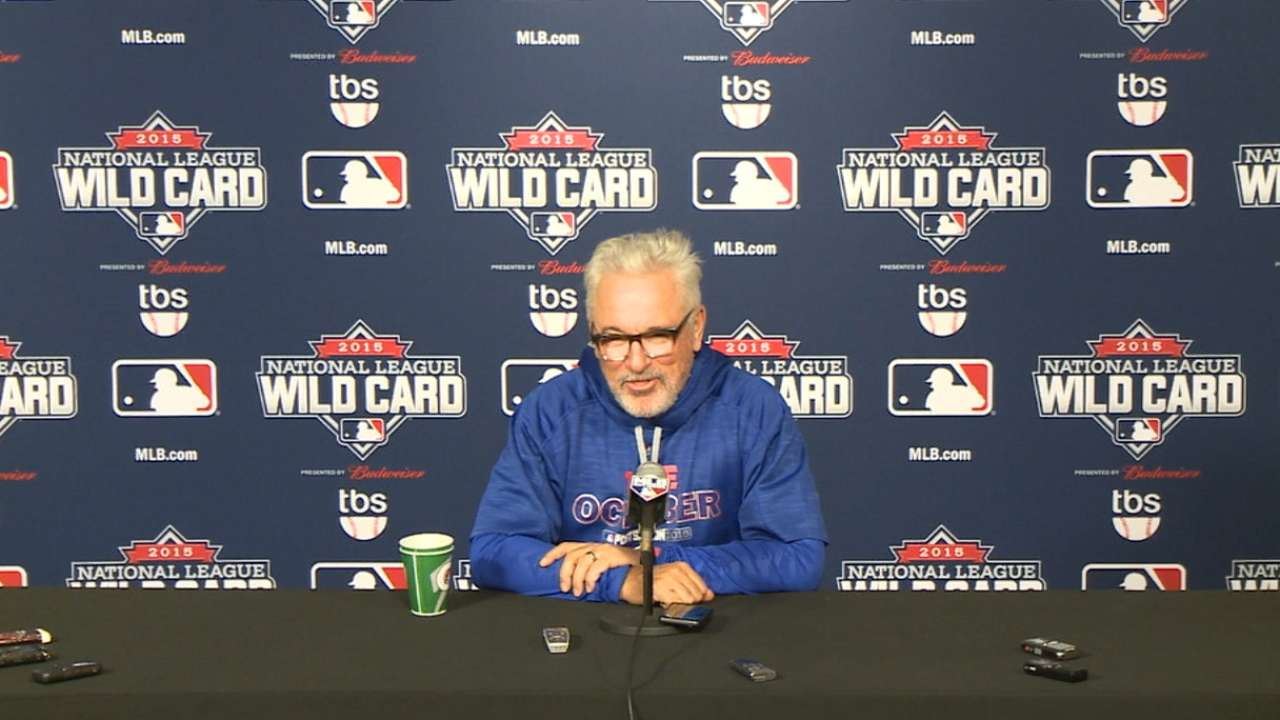 Maddon on Wild Card format