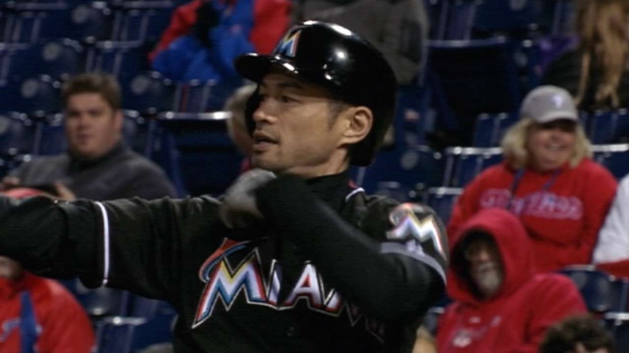 65 hits shy of 3,000, Ichiro to return with Marlins