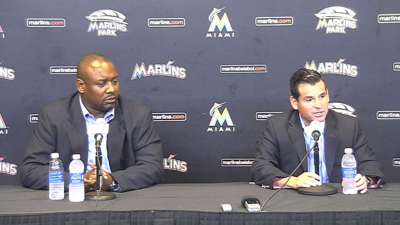Jennings returns to GM role with Marlins