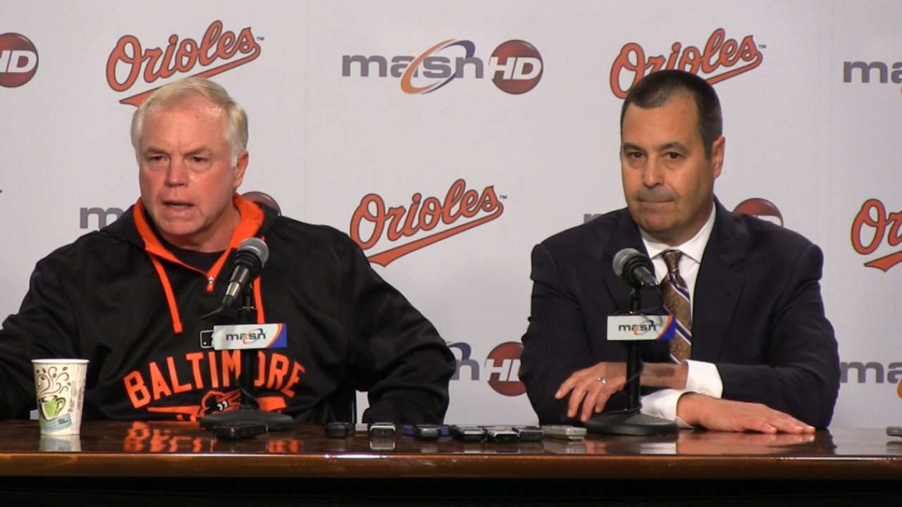 Pitching a priority for O's in Hot Stove season