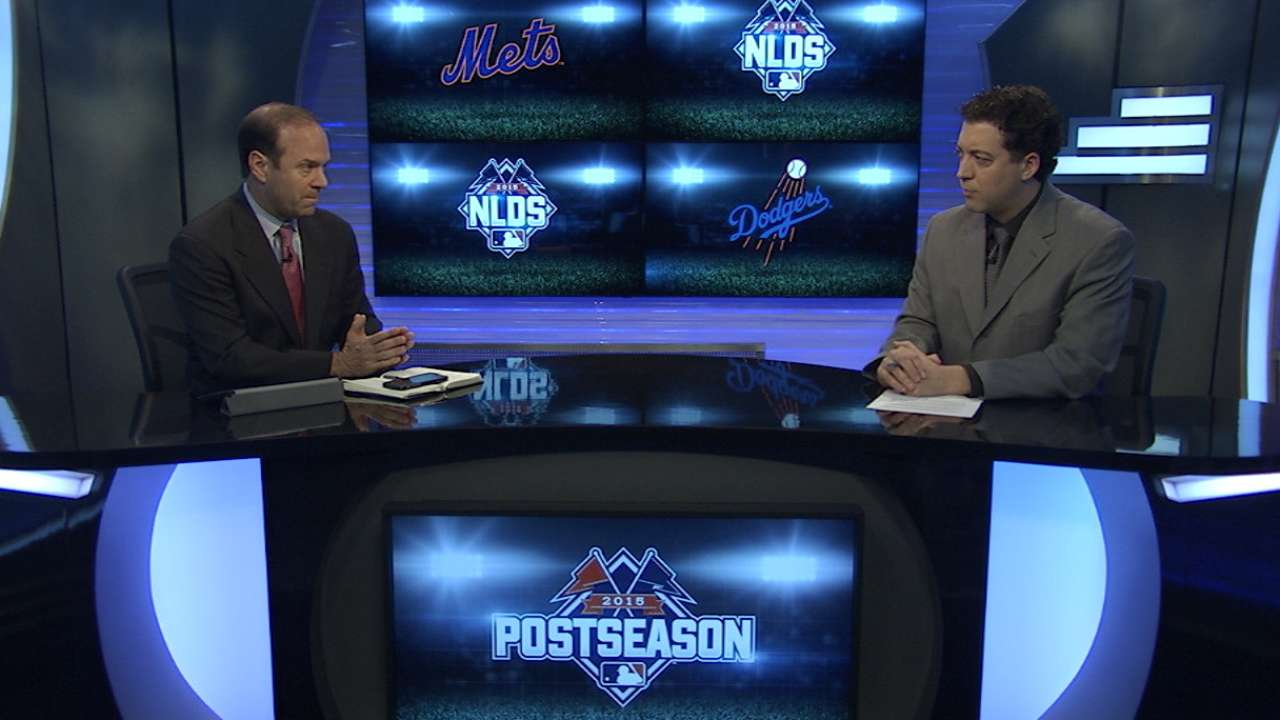 NLDS position-by-position: Mets-Dodgers