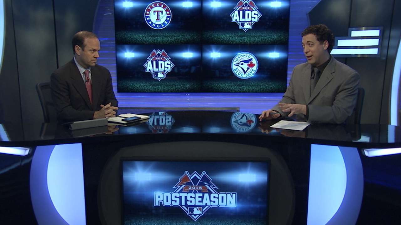 ALDS: Blue Jays-Rangers position by position
