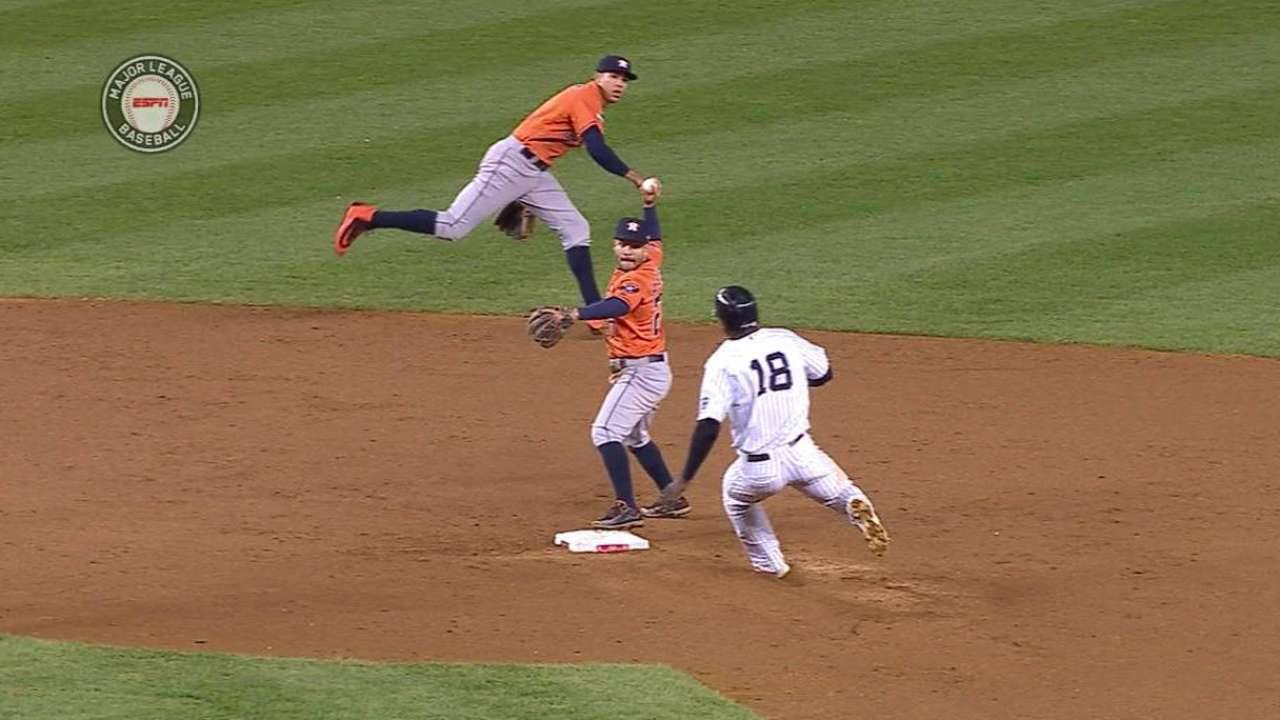 Correa's impressive play