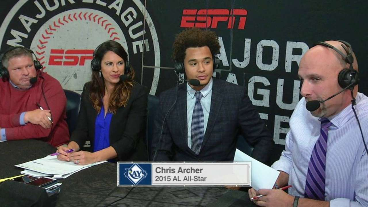 Archer gets front-row seat as Series analyst