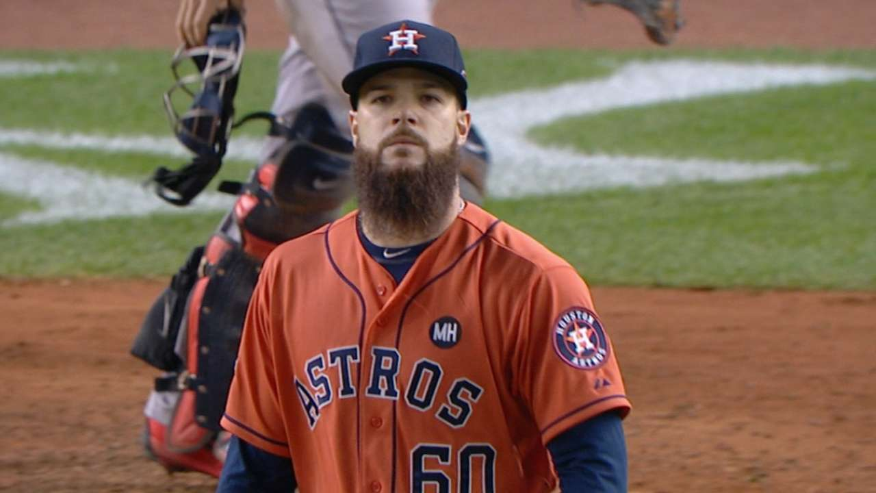 Keuchel dazzles; Yanks exit stage lefty