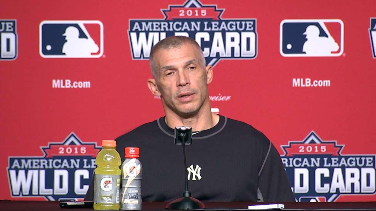 Girardi on Yankees' playoff loss